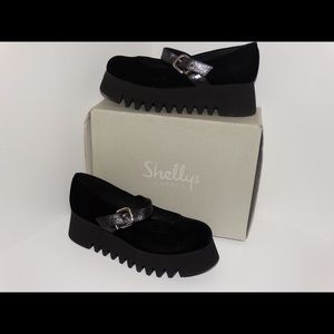 Shelly's London Kilian Platform Sandal Size 8.5